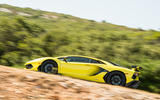 Lamborghini Aventador SVJ 2018 first drive review on the road side