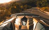 Lamborghini Aventador SVJ Roadster 2019 first drive review - on the road spoiler