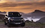 22 Land Rover Defender V8 2021 UK FD static