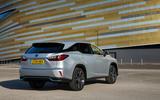 Lexus RX 450hL 2018 review static rear
