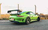Manthey 911 GT3 RS MR 2020 first drive review - static rear