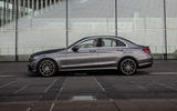Mercedes-Benz C-Class C200 2018 review static side