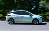Nissan Leaf 2nd generation (2018) long-term review on the road side