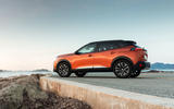 Peugeot 2008 2020 first drive review - static rear