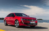 Peugeot 508 2018 review static front