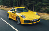 Porsche 911 Carrera 4S 2019 UK first drive review - on the road hero