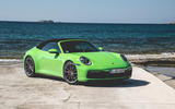 Porsche 911 Cabriolet 2019 first drive review - static front