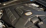 22 Porsche Cayenne Turbo GT 2021 UK FD engine