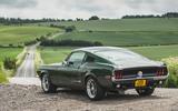 22 Revology Mustang Bullitt 2021 UK FD static rear