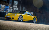 22 RUF CTR 2020 first drive review static front