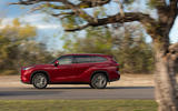 Toyota Highlander Hybrid 2020 first drive review - on the road side