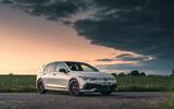 22 Volkswagen Golf GTI Clubsport 45 2021 UK FD static front