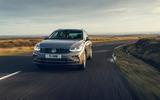 22 Volkswagen Tiguan 2021 UK FD on road front