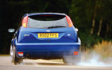 Ford Focus RS 2002 - tracking rear