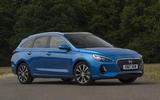 Hyundai i30 Tourer front profile