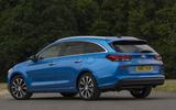 Hyundai i30 Tourer rear quarter