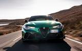 23 Alfa Romeo Giulia GTAm 2021 FD on road nose