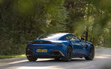 Aston Martin Vantage manual 2019 first drive review - static rear