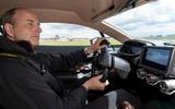 23 Aston Martin Victor 2021 AF driving