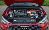 Audi A3 TFSIe 2020 UK first drive review - engine
