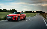 Audi E-tron S Sportback 2020 first drive review - on the road front