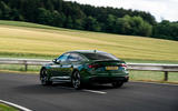 Audi RS5 Sportback 2019 first drive review - cornering rear