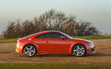 Audi TT Coupe 2019 UK first drive review - static side