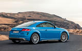 Audi TTS 2018 first drive review static rear