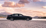 BMW 7 Series 730Ld 2019 UK first drive review - static side