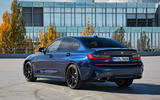 BMW M340i xDrive 2019 first drive review - static rear