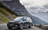 BMW X7 2019 first drive review - static front