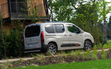 Citroen Berlingo 2018 first drive review static rear