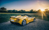Ferrari F8 Tributo Spider 2020 UK first drive review - static rear