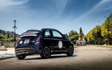 Fiat 500 electric 2021 first drive review - static rear
