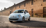 Fiat 500 Hybrid 2020 first drive review - static front