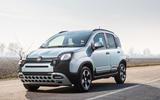 Fiat Panda Cross Hybrid 2020 first drive review - static