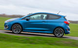 Ford Fiesta ST 2019 long-term review - on the road side