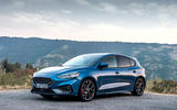 Ford Focus ST 2019 first drive review - static front