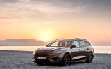 Ford Focus ST estate EcoBlue 2019 first drive review - static front