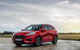 23 Ford Kuga FHEV 2021 UK FD static front
