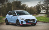 23 Hyundai i20 N 2021 UK first drive review static