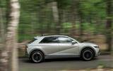 23 Hyundai Ioniq 5 2021 FD Norway plates tracking side