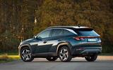 Hyundai Tucson 2020 UK first drive review - static rear