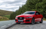 Jaguar XE 300 Sport 2018 UK first drive review static front