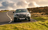 23 Jaguar XF Sportbrake 2021 UK first drive review cornering