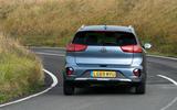 Kia Niro PHEV 2020 UK first drive review - cornering rear