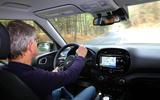 Kia Soul EV 2019 first drive review - Richard Bremner driving