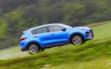 Kia Sportage GT-Line S 48V 2018 first drive review on the road side