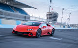Lamborghini Huracan Evo 2019 first drive review - track front