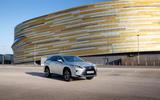 Lexus RX 450hL 2018 review static front